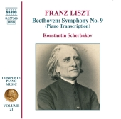 Album artwork for BEETHOVEN SYMPHONY NO. 9 (LISZT PIANO TRANSCRIPTIO