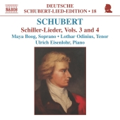 Album artwork for SCHILLER LIEDER, VOL. 3 & 4