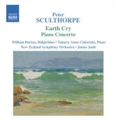 Album artwork for SCULTHORPE: EARTH CRY - PIANO CONCERTO