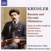 Album artwork for RUSSIAN AND SLAVONIC MINIATURES