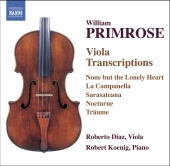 Album artwork for PRIMROSE - VIOLA TRANSCRIPTIONS