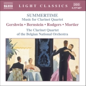 Album artwork for SUMMERTIME - MUSIC FOR CLARINET QUARTET