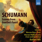 Album artwork for Schumann: Scenes from Goethe's Faust