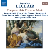 Album artwork for LECLAIR: COMPLETE FLUTE CHAMBER MUSIC