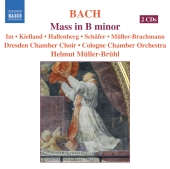 Album artwork for BACH : MASS IN B MINOR