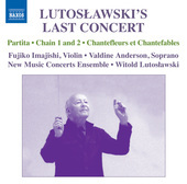 Album artwork for Lutoslawski's Last Concert