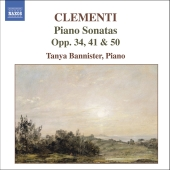 Album artwork for CLEMENTI : PIANO SONATAS, OP. 34, 41 & 50