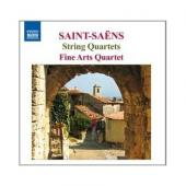Album artwork for Saint-Saens: String Quartets