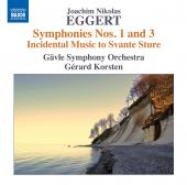 Album artwork for Eggert: Symphonies Nos. 1 & 3, and Incidental Musi