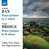 Album artwork for Bax: Piano Quintets