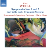 Album artwork for Weill: SYMPHONIES 1 & 2 / Alsop