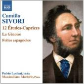 Album artwork for Camillo Sivori: 12 Etudes-Caprices