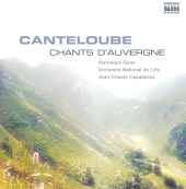 Album artwork for CANTELOUBE - CHANTS D'AUVERGNE