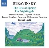 Album artwork for Stravinsky: The Rite of Spring, Nightingale/ Craft
