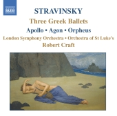 Album artwork for THREE GREEK BALLETS