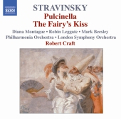 Album artwork for STRAVINSKY : PULCINELLA / THE FAIRY'S KISS