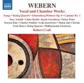 Album artwork for Webern: Vocal and Chamber Works