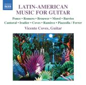 Album artwork for Latin-American Music for Guitar / Coves