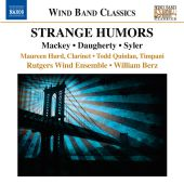 Album artwork for Rutgers Wind Ensemble: Strange Humors