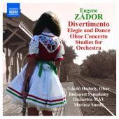 Album artwork for Zador: Divertimento, Elegie and Dance, etc.