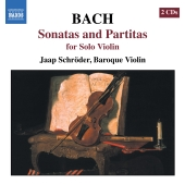 Album artwork for Bach: Sonatas & Partitas, Solo Violin / Schröder