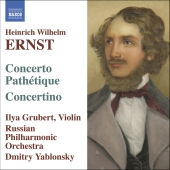 Album artwork for ERNST: CONCERTO PATHETIQUE / CONCERTINO