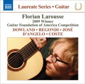 Album artwork for Florian Larousse: Dowland, Regondi, Jose, etc.