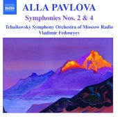Album artwork for PAVLOVA: SYMPHONIES NOS.2 & 4