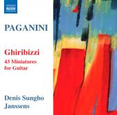 Album artwork for Paganini: Ghiribizzi - 43 Miniatures for Guitar