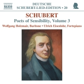 Album artwork for SCHUBERT: POETS OF SENSIBILITY, VOLUME 3