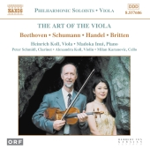 Album artwork for ART OF THE VIOLA