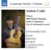 Album artwork for Andras Csaki: Guitar Recital