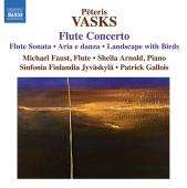 Album artwork for Vasks: Flute Concerto, Flute Music