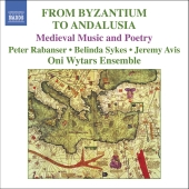 Album artwork for FROM BYZANTIUM TO ANALUSIA: MEDIEVAL MUSIC AND POE