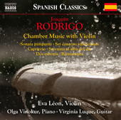 Album artwork for Rodrigo: Chamber Music with Violin