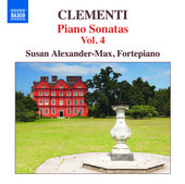 Album artwork for Clementi: Piano Sonatas, Vol. 4