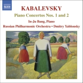 Album artwork for KABALEVSKY: PAINO CONCERTOS NOS. 1 & 2