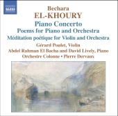Album artwork for PIANO CONCERTO, POEMS FOR PIANO AND ORCHESTRA, MED