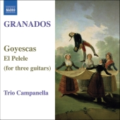 Album artwork for Granados: Goyescas for 3 guitars/ Trio Campanella