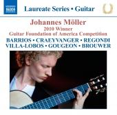 Album artwork for Johannnes Moller: 2010 Winner Guitar Foundation of