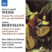 Album artwork for Weiss/Hoffmann: Sonatas for Lute & Mandolin