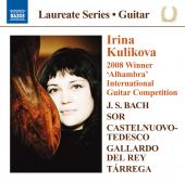 Album artwork for Irina Kulikova: Bach, Sor, Del Rey, Tarrega