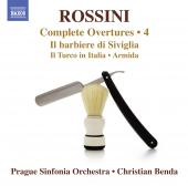 Album artwork for Rossini: Overtures vol.4 , Prague Sinfonia, Benda