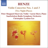Album artwork for VIOLIN CONCERTOS NOS. 1 & 3