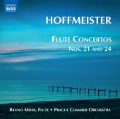 Album artwork for Hoffmeister: Flute Concerti Nos. 21, 24