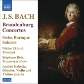 Album artwork for BRANDENBURG CONCERTOS
