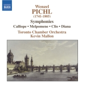Album artwork for Pichl: Symphonies / Kevin Mallon, Toronto Chamber
