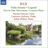 Album artwork for BAX: VIOLA SONATA AND OTHER WORKS FOR VIOLA