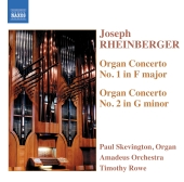 Album artwork for Rheinberger: ORGAN CONCERTOS NOS. 1 & 2