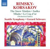 Album artwork for Rimsky-Korsakov-The Snow Maiden, Sadko, Mlada, Le